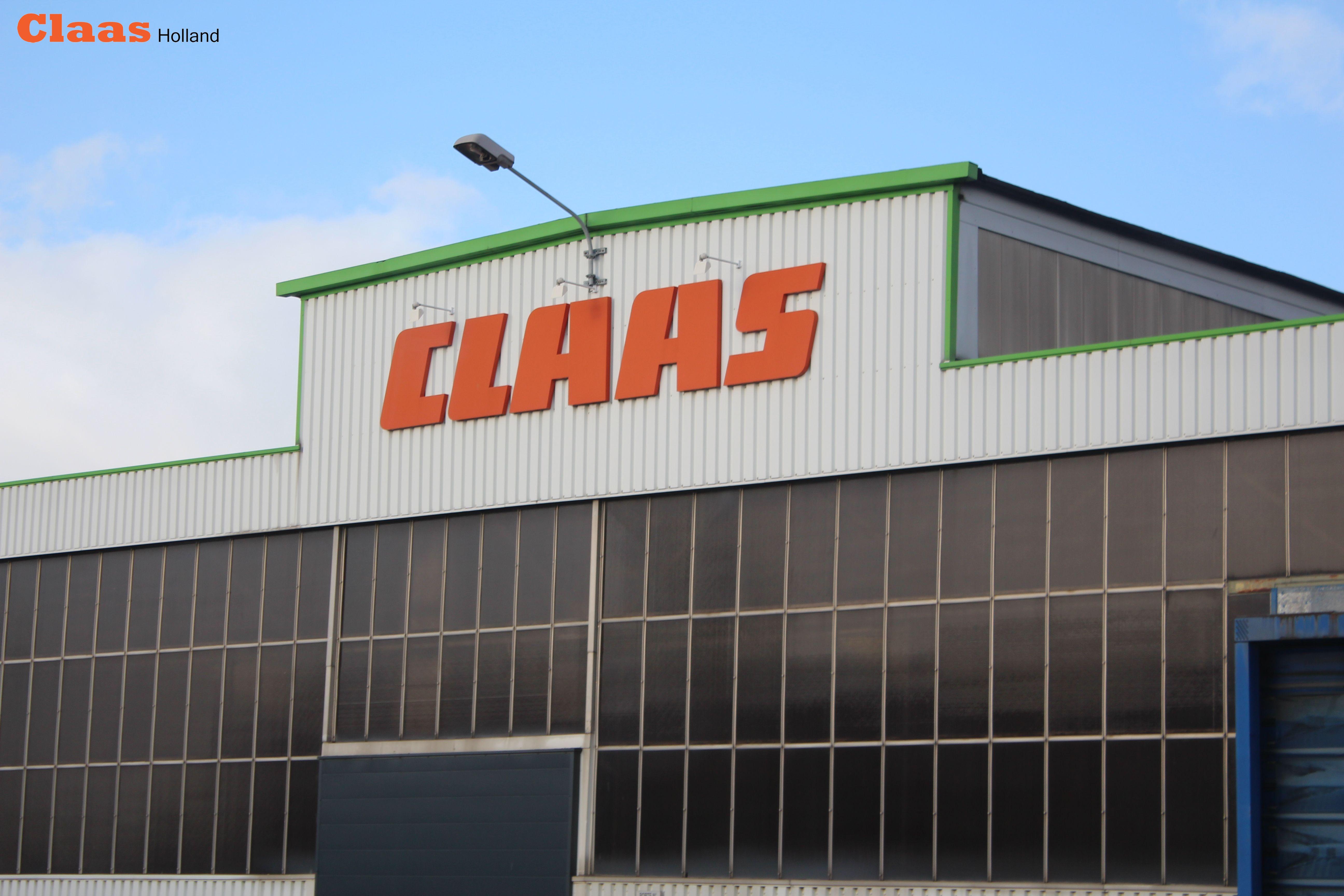 Bezoek aan Claas fabriek te Le Mans.
