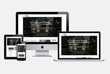 Nieuwe website.