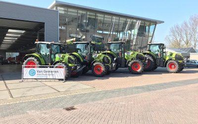 Van Gemeren Mechanisatie levert vier CLAAS tractoren aan Hack Harvest.
